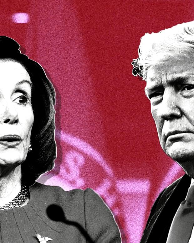 Donald Trump Nancy Pelosi Lead