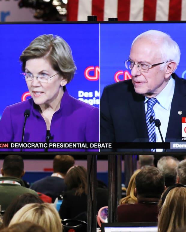 Democratic Debate Lead