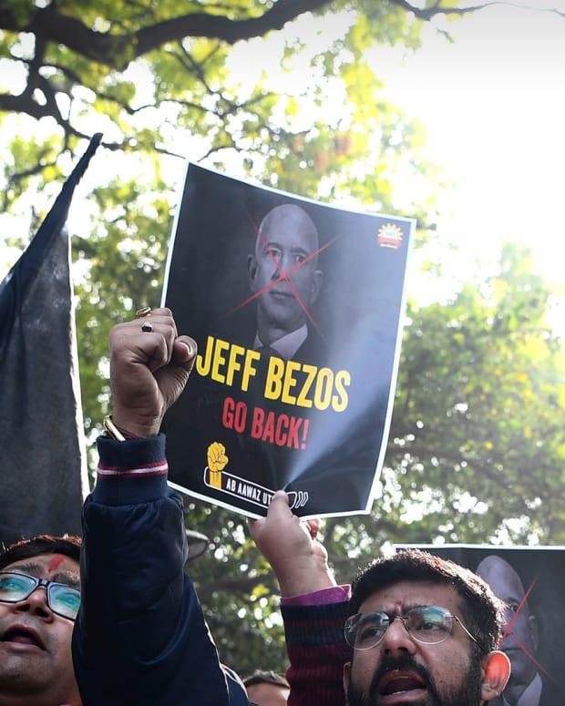 Jeff Bezos India Lead