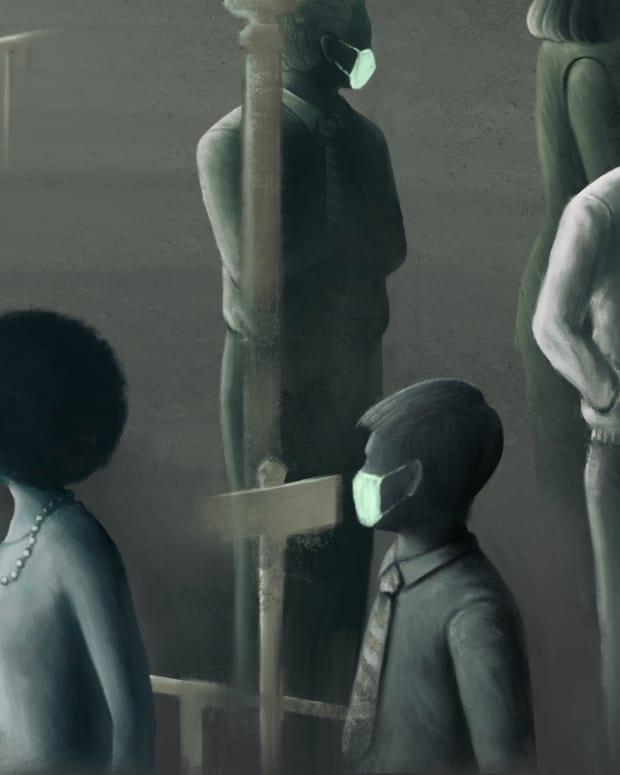 black friday masks surreal sh