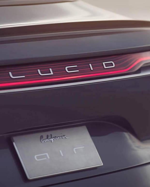 Lucid Air sedan Lead