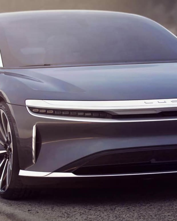 Lucid Air sedan Lead