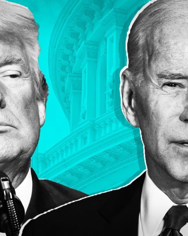Joe Biden Donald Trump Lead