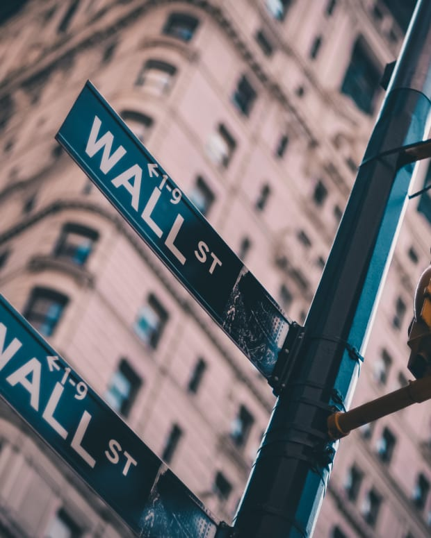 Wall Street sign.