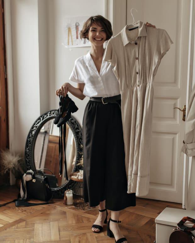 frugal fashion woman sh
