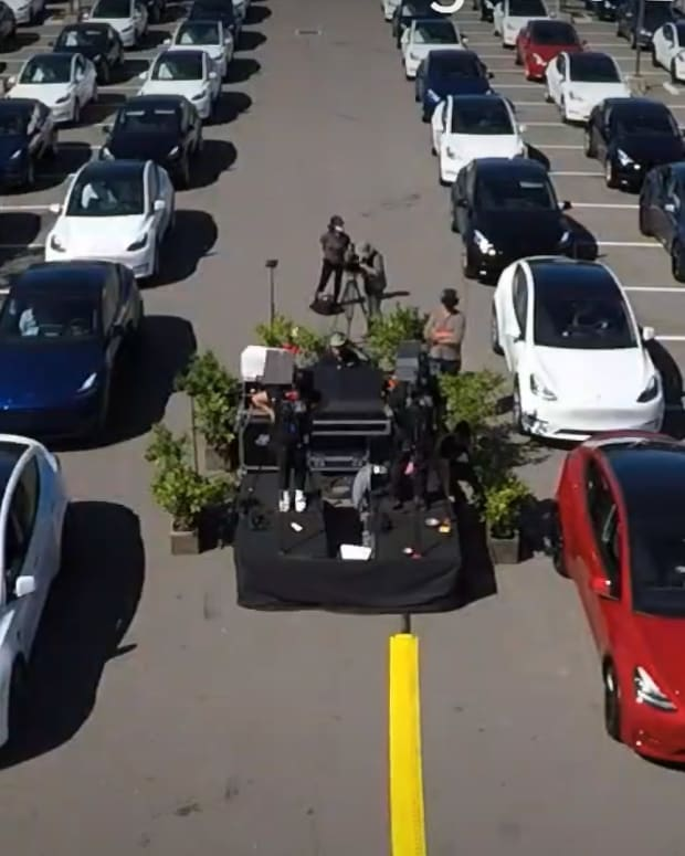 Tesla Parking Lot Lead