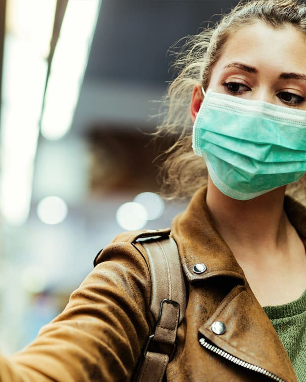 Masks Blocking Coronavirus Spread