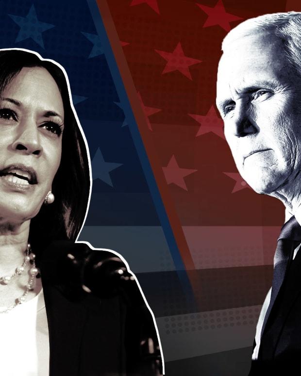 Pence Harris Election Debate Lead