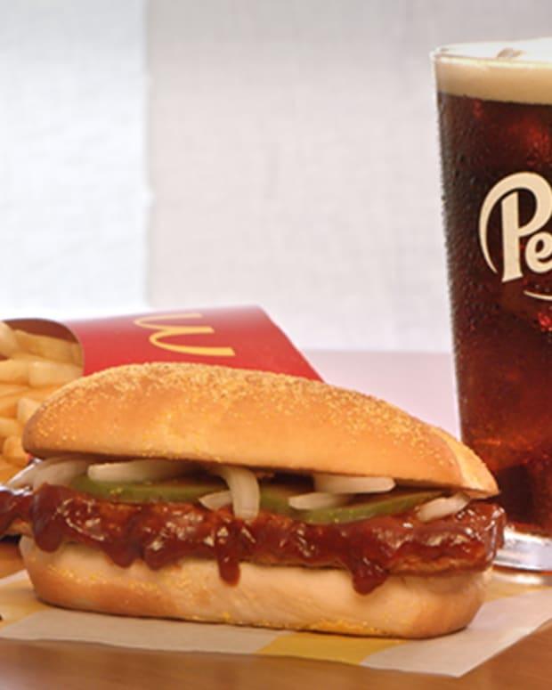 McDonald's McRib Lead