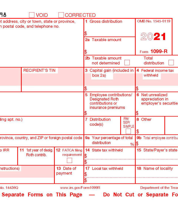 Form 1099-r