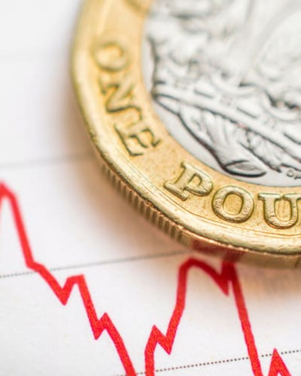 The UK pound could face harder times ahead. Parlanteste/Shutterstock