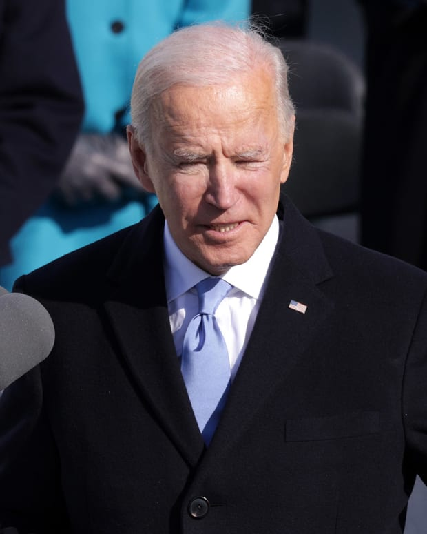 Joe Biden Inauguration Day Lead