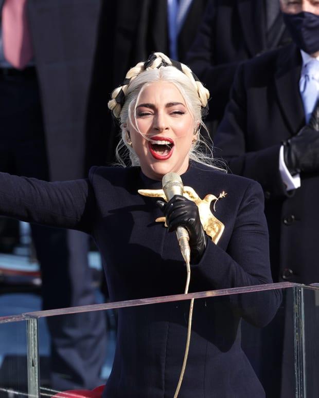 Lady Gaga Inauguration Day Lead