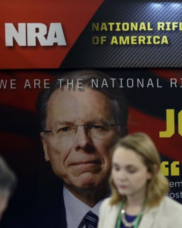 Facing legal and financial challenges, the NRA wants to exit New York. Alex Wong/Getty Images