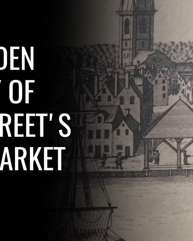 Slave Market Wall Street Lead