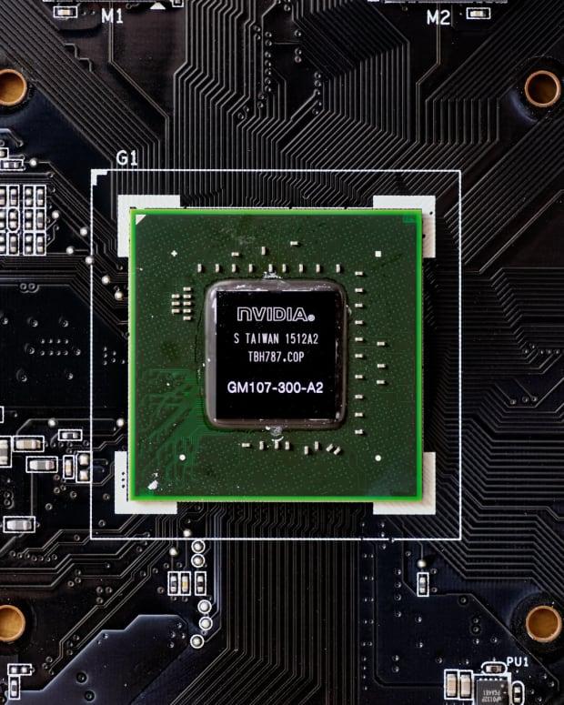 Photo of Nvidia GTX 750 graphics card.