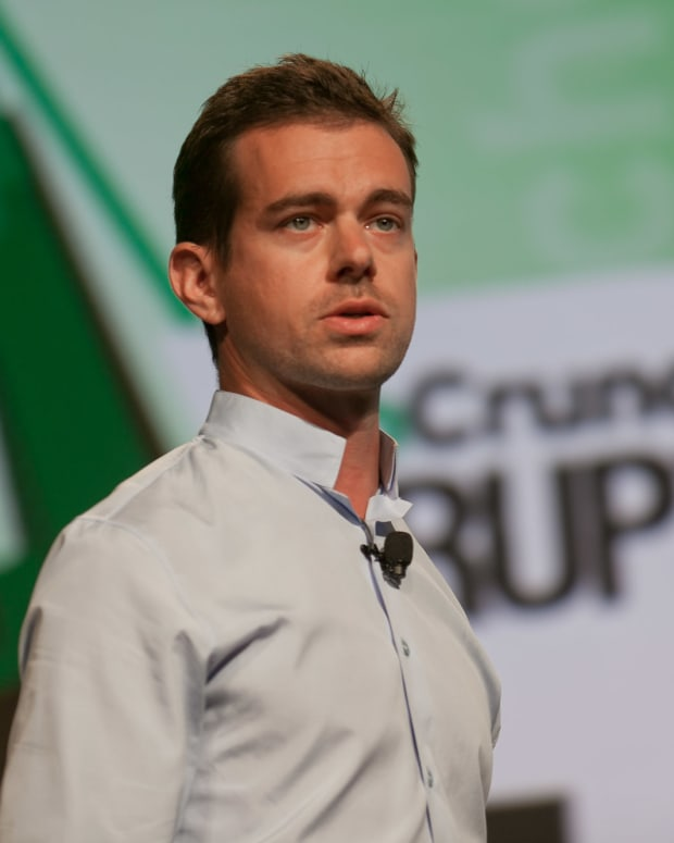 Jack Dorsey at TechCrunch Disrupt in 2012