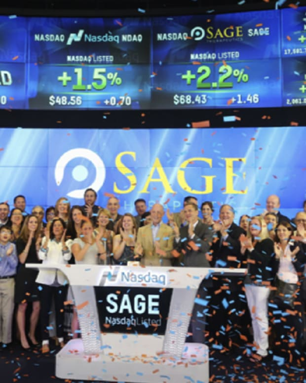 Sage Therapeutics Lead