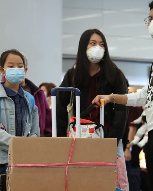 Masks are believed to protect people from potentially picking up any infections. Photo: Winson Wong
