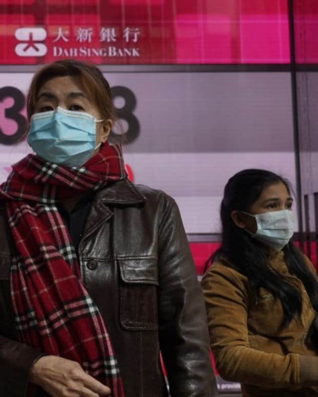 China Coronavirus: Some Hong Kong Banks Closing Branches As A Public Safety Measure