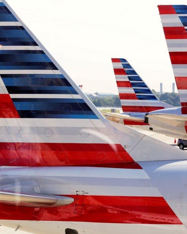 American Airlines aircraft at Ronald Reagan Washington National Airport in Washington DC. Photo: Reuters