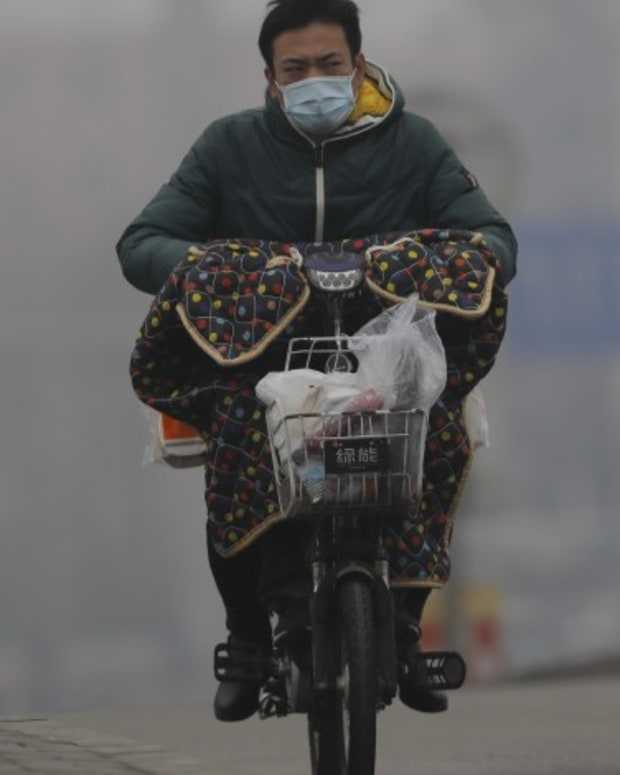 China's Capital Shrouded In Air Pollution Despite Reduced Emissions From Coronavirus Economic Slowdown