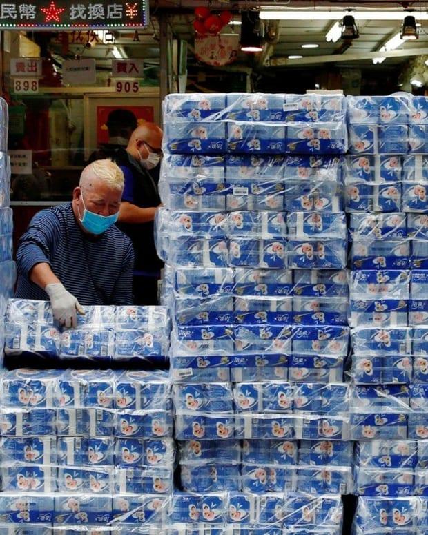 Hongkongers have been panic buying toilet paper in recent weeks. Photo: Reuters