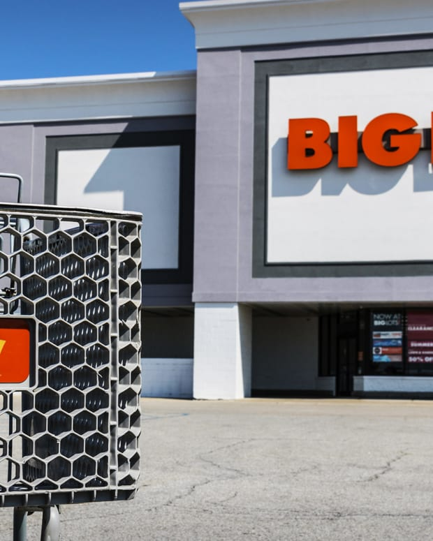 Big Lots Lead