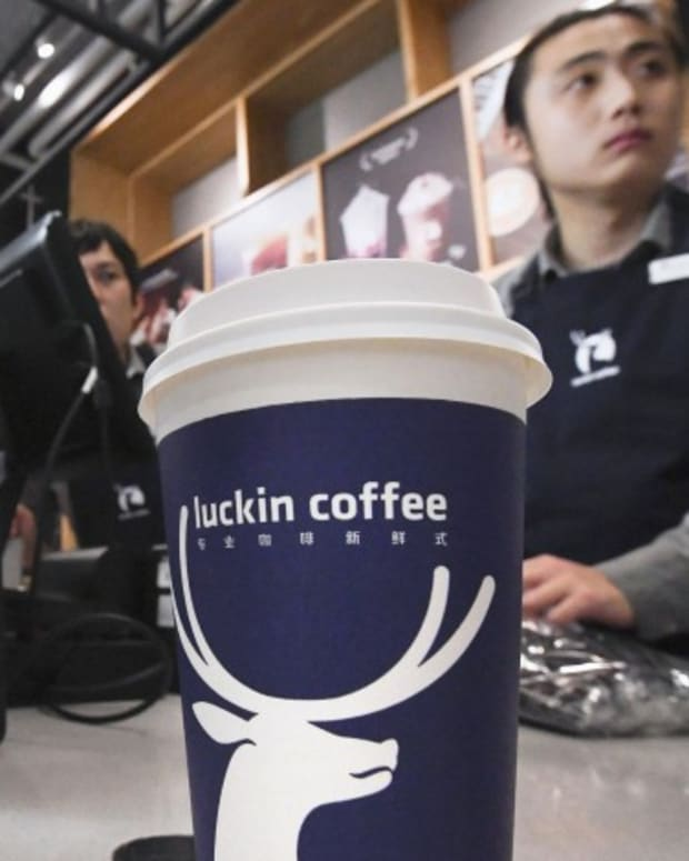 Luckin Coffee, China's Starbucks Wannabe, Plunge On Nasdaq After Executive Was Suspended For Making Up Sales Figures