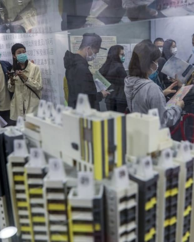 Hong Kong's Property Prices To Fall By Up To 20 Per Cent As The City's Jobless Ranks Swell Amid Covid-19 Pandemic