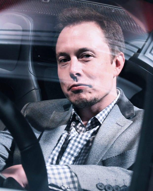 Elon Musk Tesla Lead