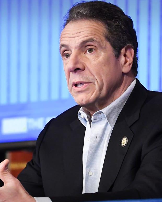 Coronavirus Governor Cuomo Lead