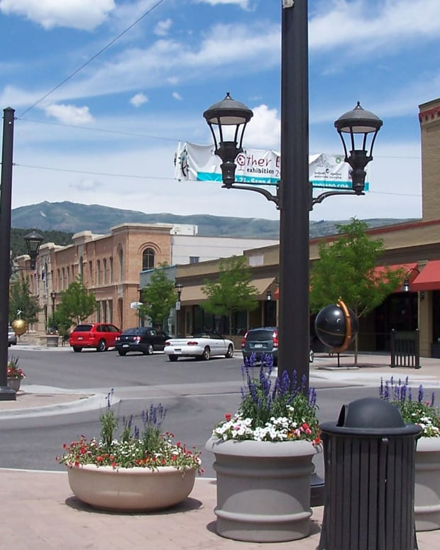 main st, colorado, town,