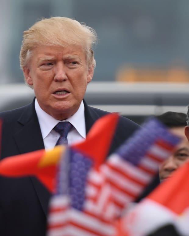 Trump China Lead