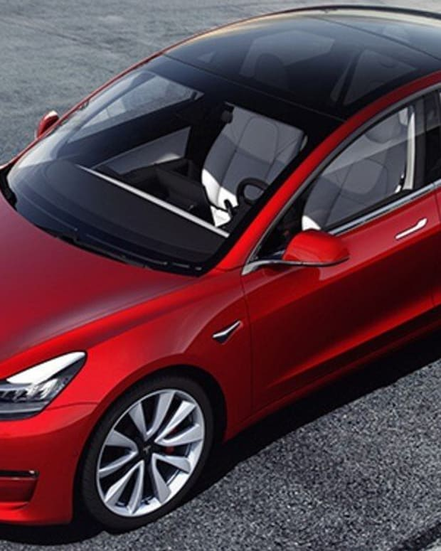 Contemporary Amperex Technology Co Ltd struck a two-year contract in February to supply batteries to Tesla, which produces its Model 3 electric cars at its Gigafactory in Shanghai. Photo: TNS