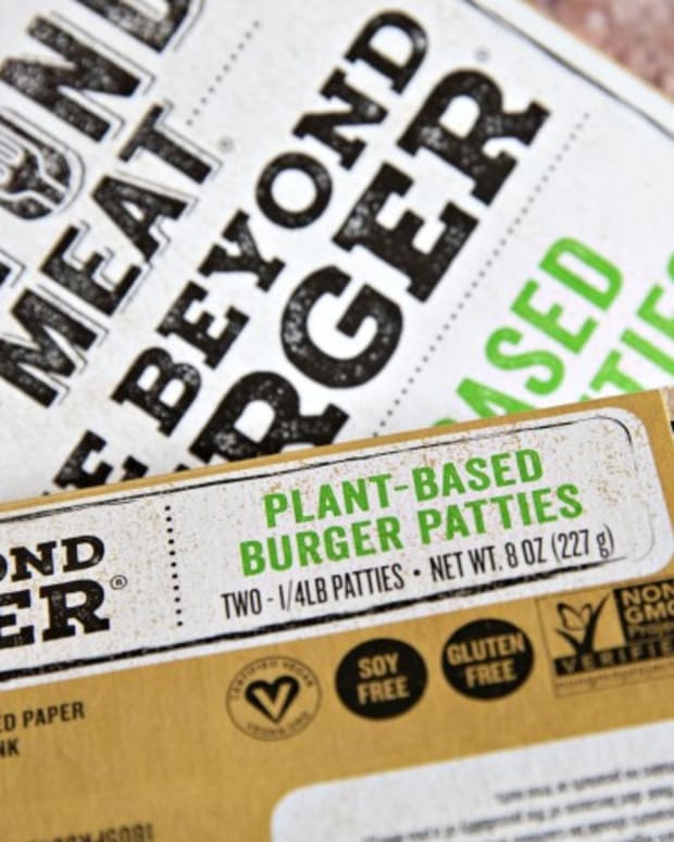 Beyond Meat Gets An Edge In China As Its Meatless Burgers Become First In Grocery Stores