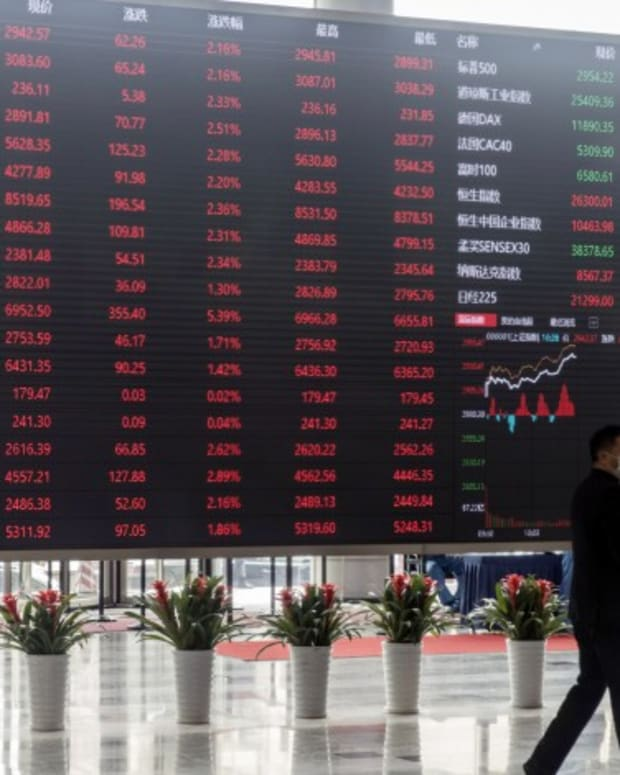 China Stocks Climb To Four-week High As Investors Assess Companies' Earnings In Post-pandemic Era