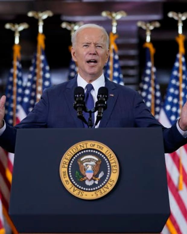 Biden is asking companies to cover the tab for his infrastructure plan.