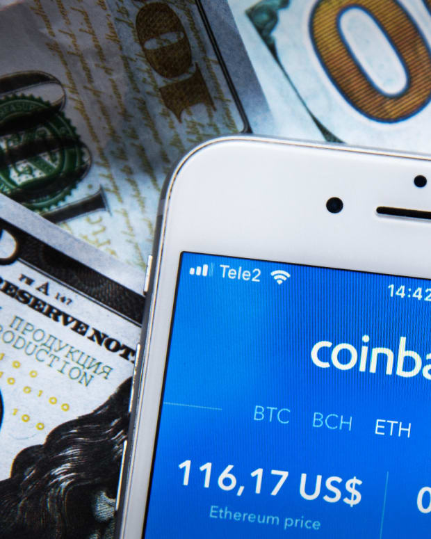 Coinbase is a cryptocurrency exchange platform