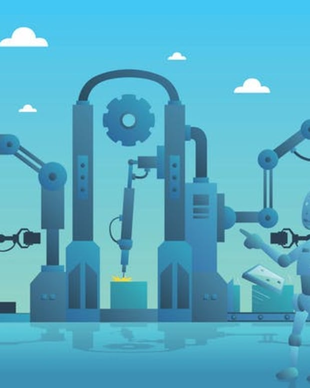 Factory robots could soon acquire a range of skills, including the ability to choose how to make things.