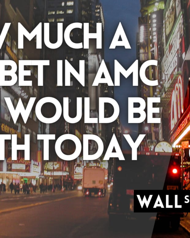 How Much A $1,000 Bet In AMC Stock Would Be Worth Today