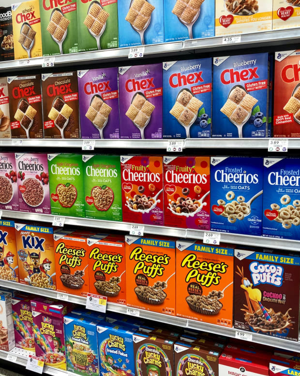 21 cereals general mills sh