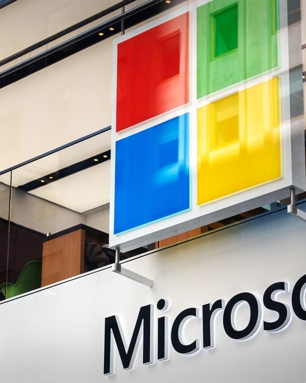 Microsoft Lead