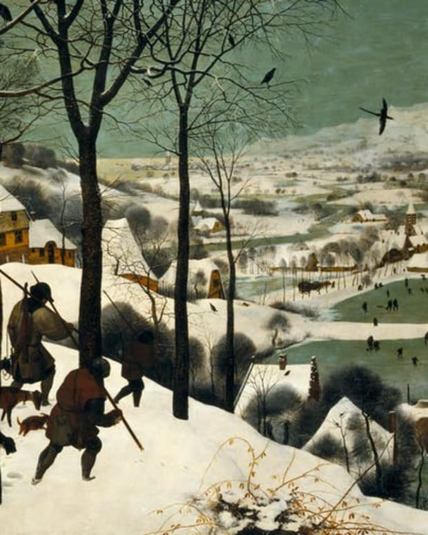 The Little Ice Age brought some bitter extremes. Pieter Bruegel the Elder, 1565