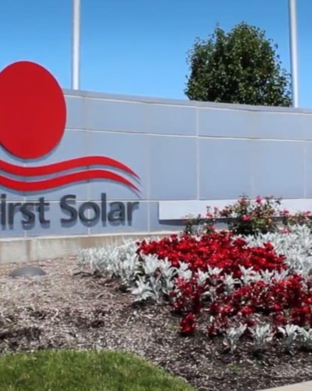 First Solar Lead