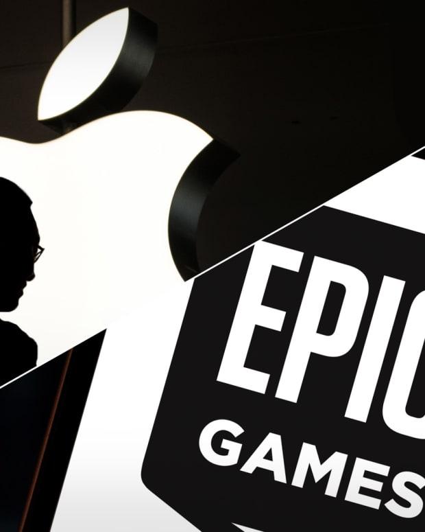 Apple Epic Games Lead