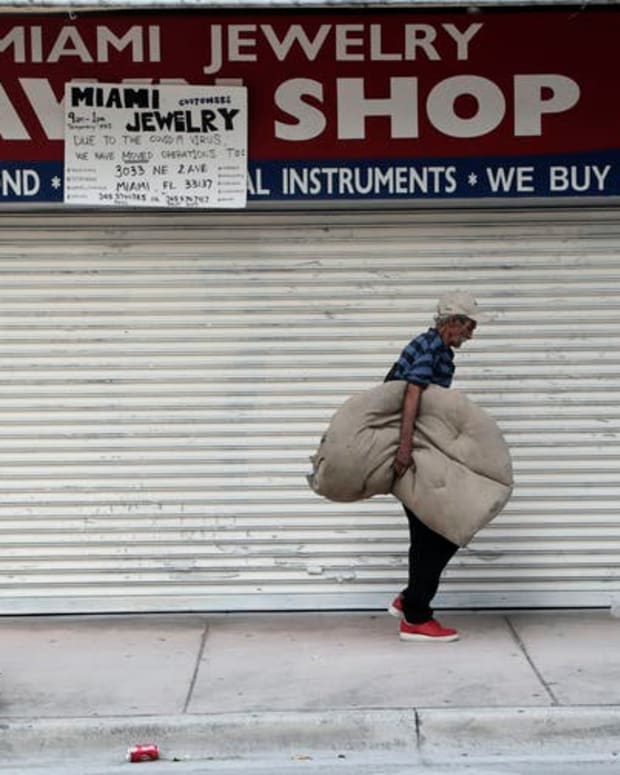 About 1 in 9 Americans live below the poverty level. AP Photo/Lynne Sladky