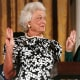 Barbara Bush is both the wife of a president and the mother of a president. She promoted literacy as her special cause. A strong advocate of volunteerism,Barbara Bush helped many causes, including the homeless, AIDS, the elderly, and school volunteer programs.
