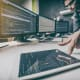Front-end EngineerMedian base salary: $100,000Front-end engineering design refers to the engineering and design work completed as part of pre-project planning, done before a more detailed design, for the purpose of discovering what resources will be needed.Photo: Shutterstock
