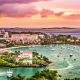 The U.S. Virgin IslandsThe U.S. Virgin Islands are an easy-to-get to honeymoon spot for U.S. newlyweds. The islands,737-square miles in size, have coasts on both the Atlantic Ocean and the Caribbean Sea - the only U.S. territory that can claim that fact. Newlyweds can settle in on St. Thomas, and set sail to local islands like St John's and St. Thomas, for some quality time, and some private times.The U.S. Virgin Islands, especially Charlotte Amalie, the largest historical town in the U.S.(located in St. Thomas), offers some of the best shopping in the Caribbean, and has for centuries. Back in 1607, the Jamestown settlers stopped in on Charlotte Amalie for supplies, and St. Thomas has been a mecca for tourist shoppers - and newlyweds - ever since.